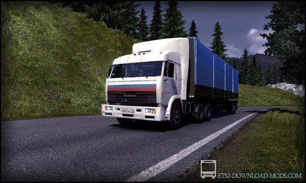 Скачать Через Торрент Мод Камаз 54115 Для Euro Truck Simulator 2 - фото 4