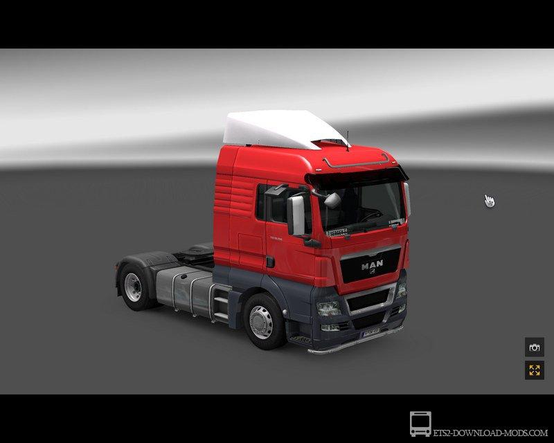 скачать мод на игру euro truck simulator 2 ман