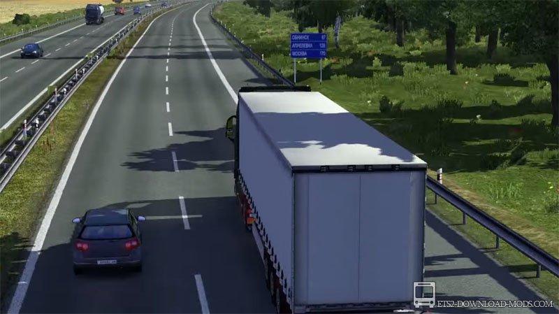 Как Открыть Всю Карту Euro Truck Simulator 2
