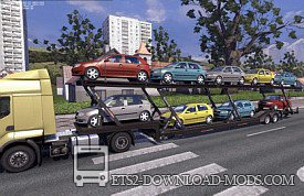 Скачать мод на прицепы «Trailers and cargo pack by Jazzycat v2.6» для Euro Truck Simulator 2 1.12.1
