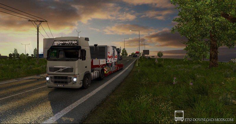 скачать мод на графику в Euro Truck Simulator 2 бесплатно img-1