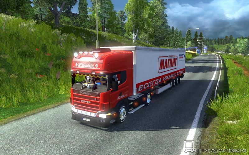 похудел моды на грузовики в евро трек симулятор 2 нижний новгород
