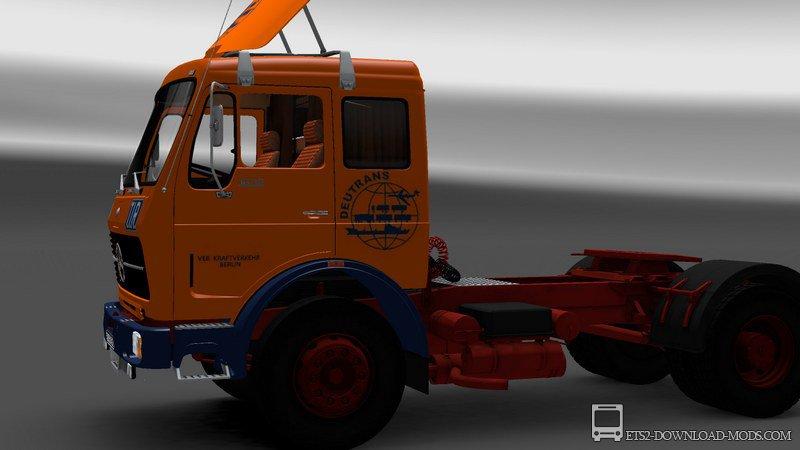 Тюнинг кабины грузовика
