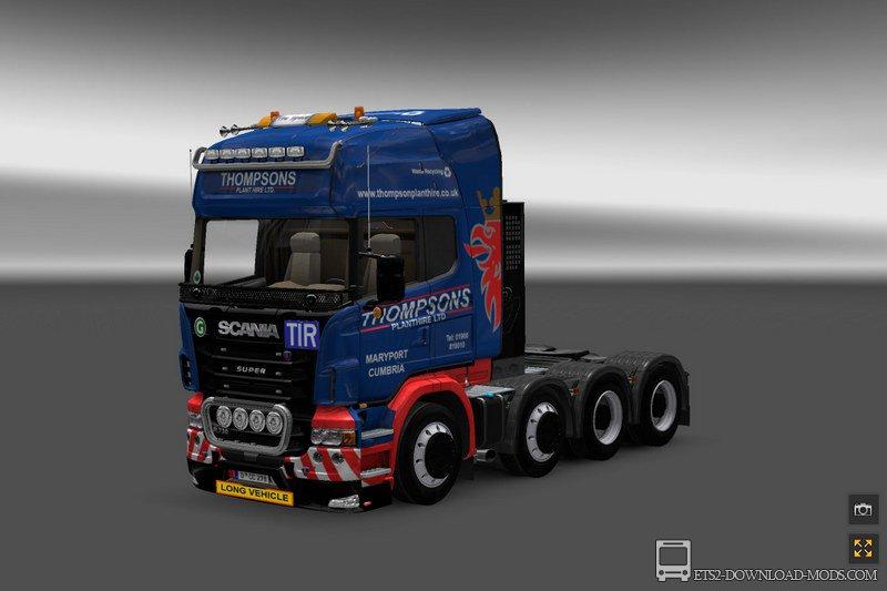 Мод грузовик для етс 2 1.27