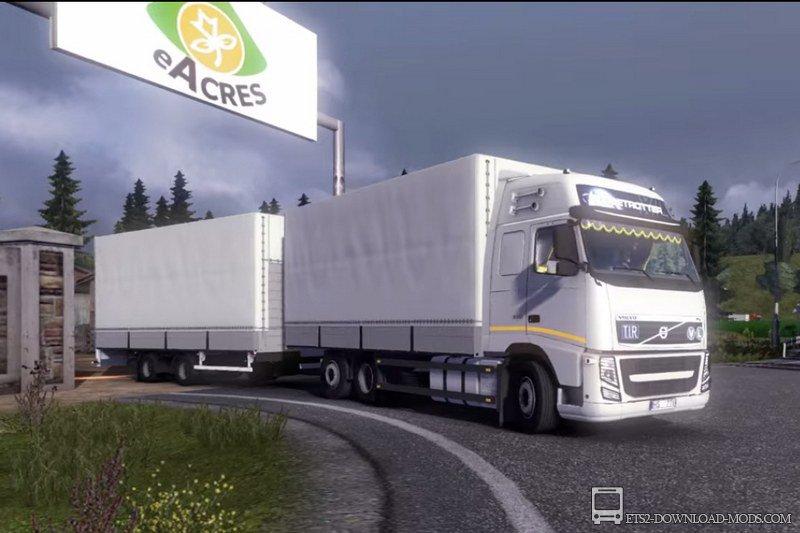 Дополнение Euro Truck Simulator 2