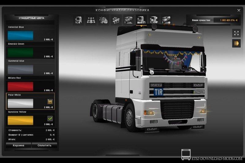 Мод На Euro Truck Simulator 2008