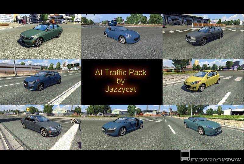скачать мод на пробки для Euro Truck Simulator 2 - фото 8