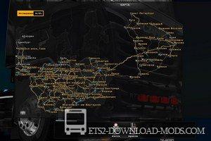 скачать мод на карту беларуси на euro truck simulator 2