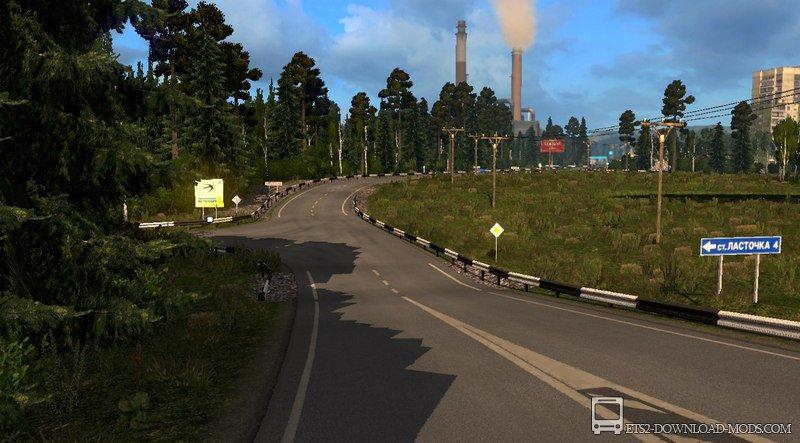 Суровая россия для ets2 v1. 22 | моды american truck simulator и.