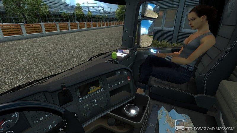 скачать моды на евро трек симулятор 2 на аксессуары в кабину - фото 5