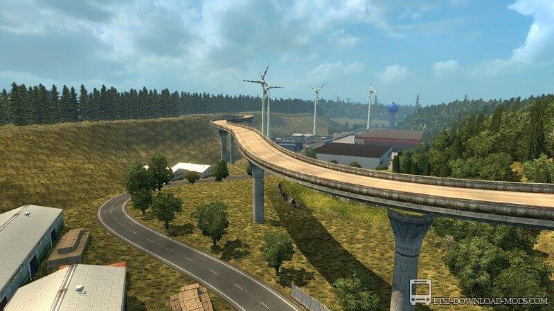 Скачать карту бездорожья для euro truck simulator 2