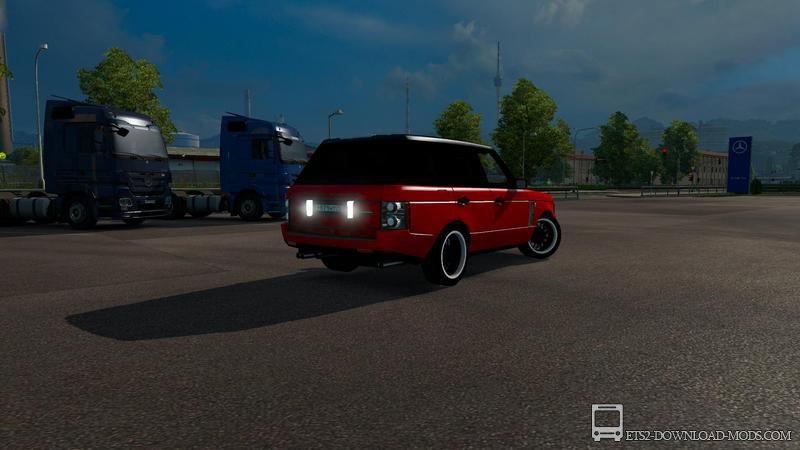 скачать мод на легковой автомобиль для euro truck simulator 2