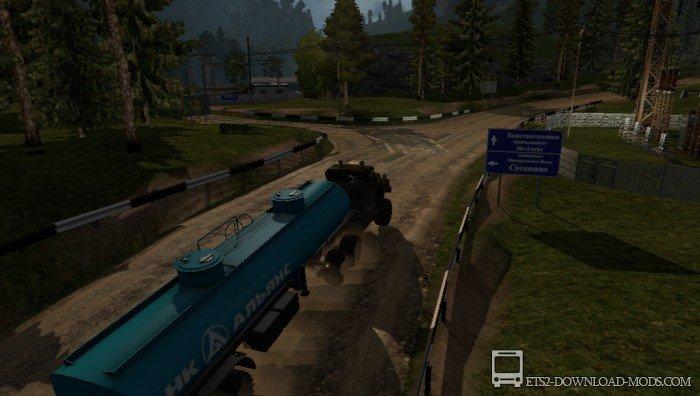 Скачать карту суровая россия r14 для euro truck simulator 2