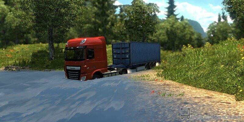 Euro Truck Simulator 2 Обзор Мода