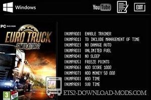 Читы для euro truck simulator 2 скачать