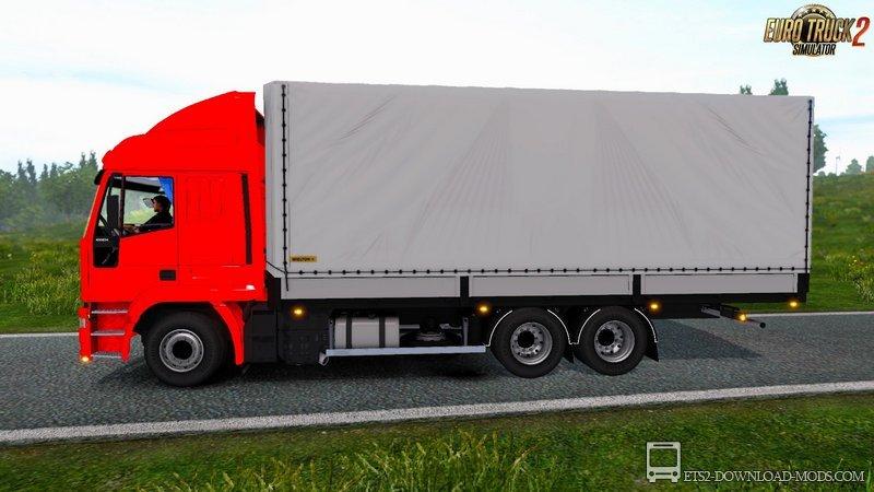 Euro truck simulator 2 интерьер салона