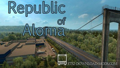 Карта Republic of Aloma для ETS 2 1.30