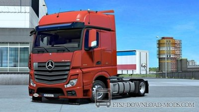 Mercedes Actros MP4 для ЕТС 2 1.35